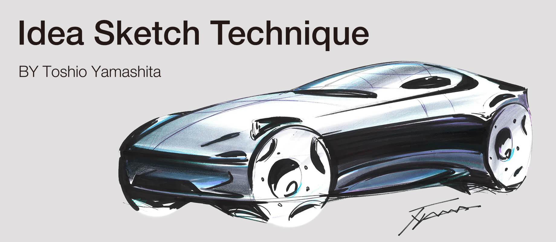 ToshioYamashita,copic,copicmarkers,copic sketch,design,car,car design, markers
