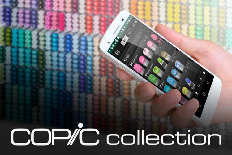 copic cllection app