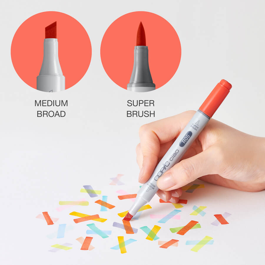 Easy to use nibs