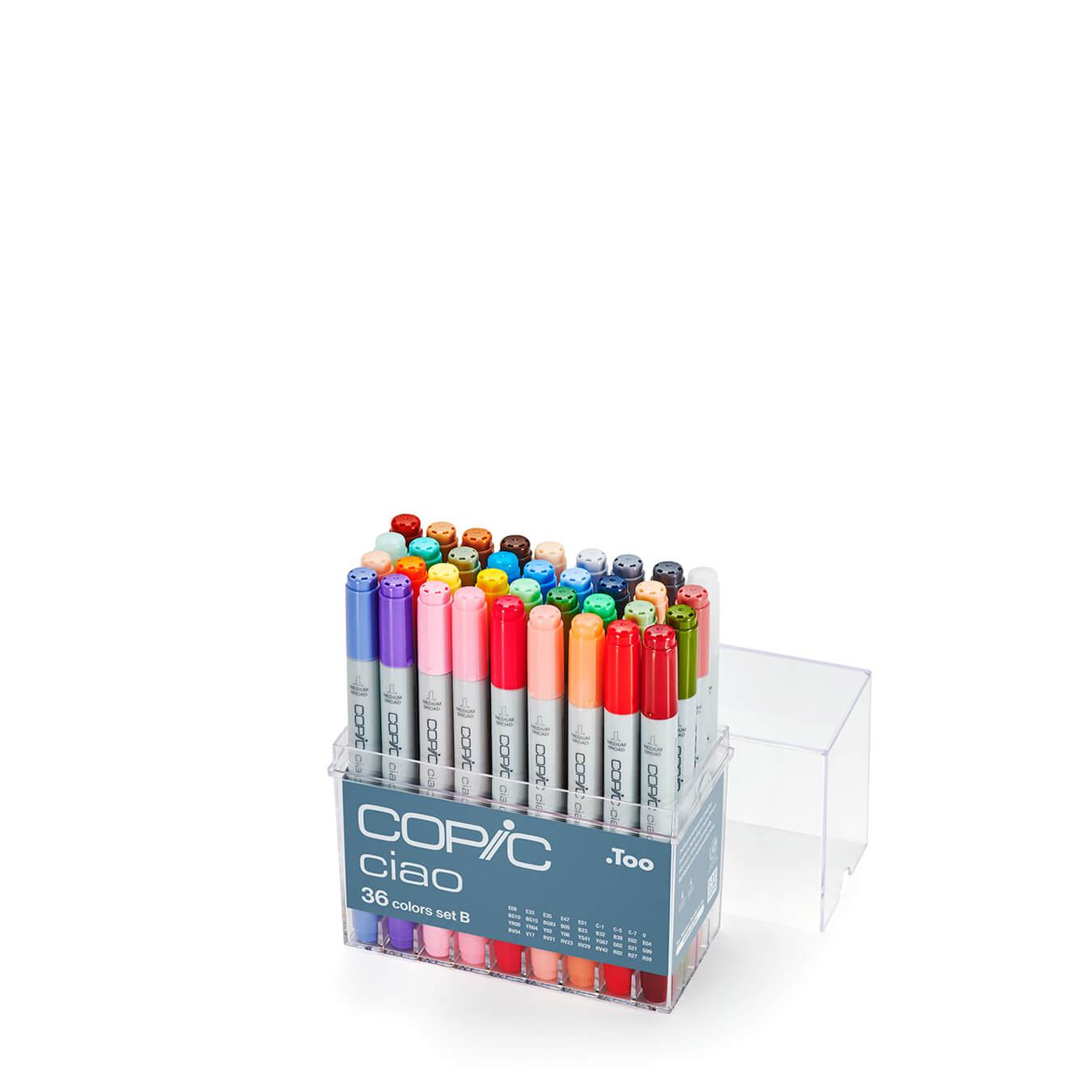 Copic Ciao 36 colors set B