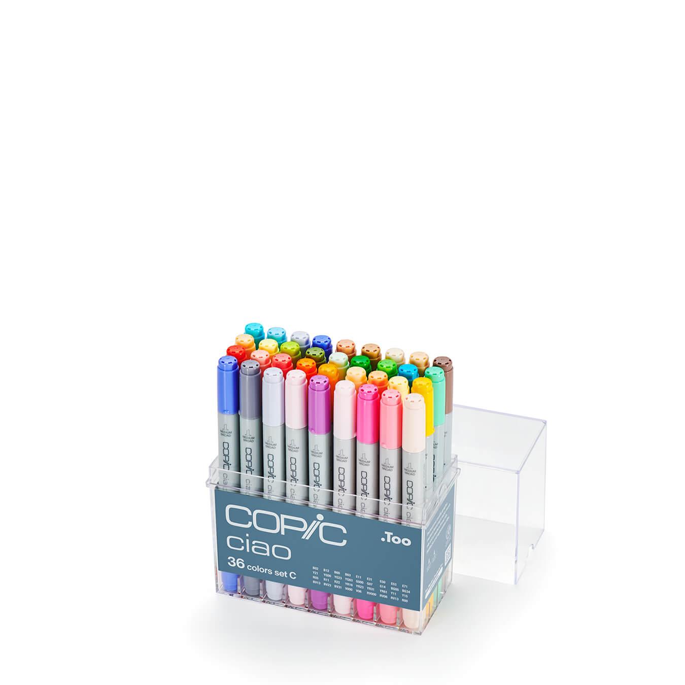 Copic Ciao 36 colors set C