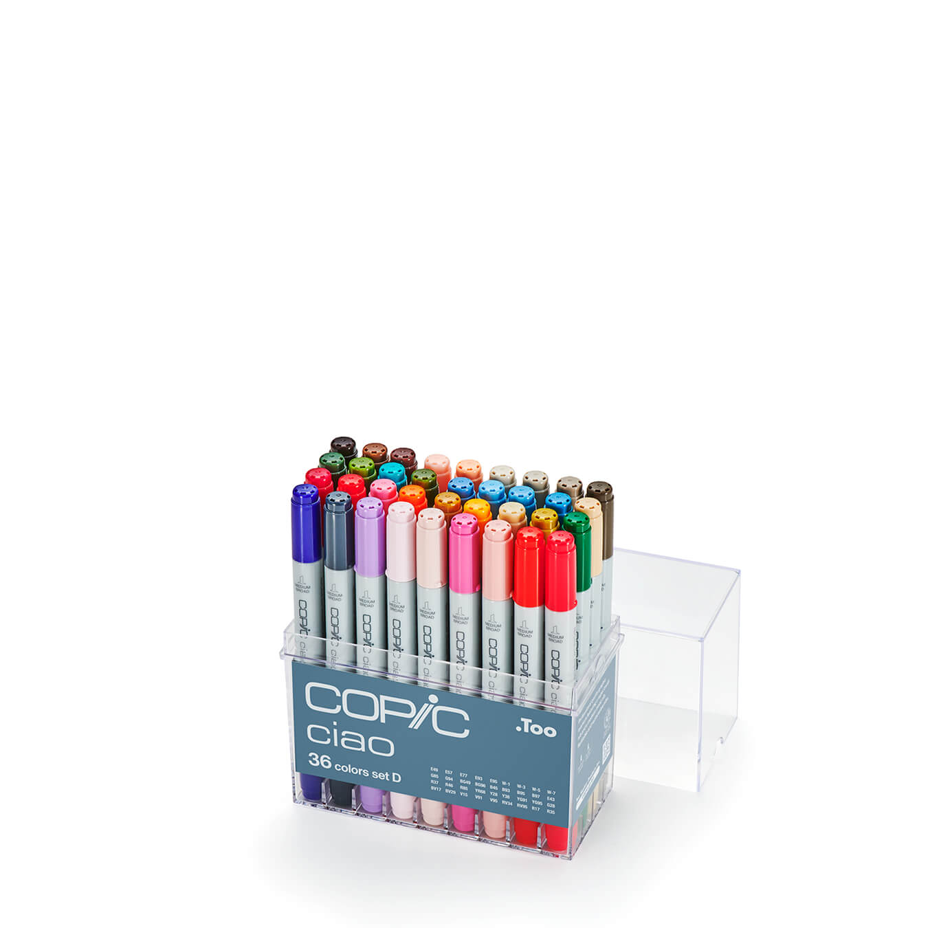 Copic Ciao 36 colors set D