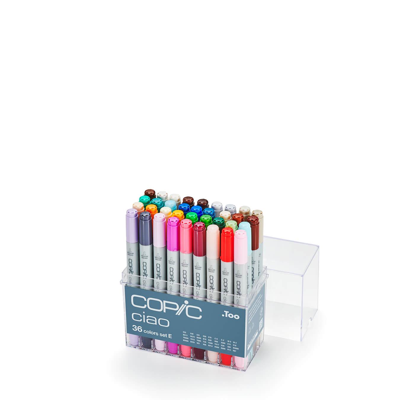 Copic Ciao 36 colors set E