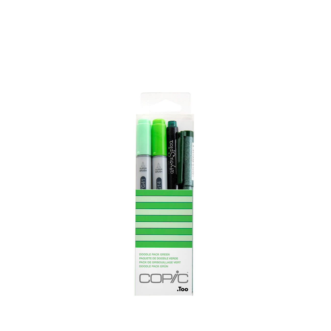 Copic Ciao Doodle pack Green