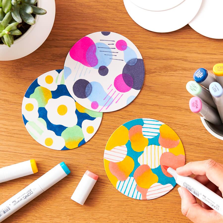 Copic Coasters