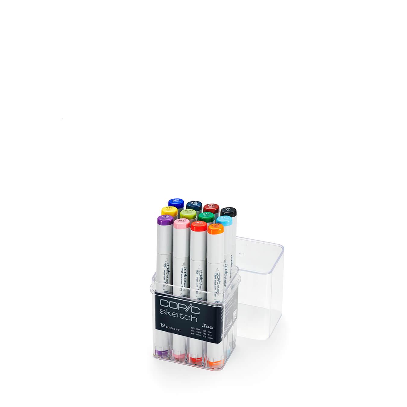 Copic Sketch 12 colors set