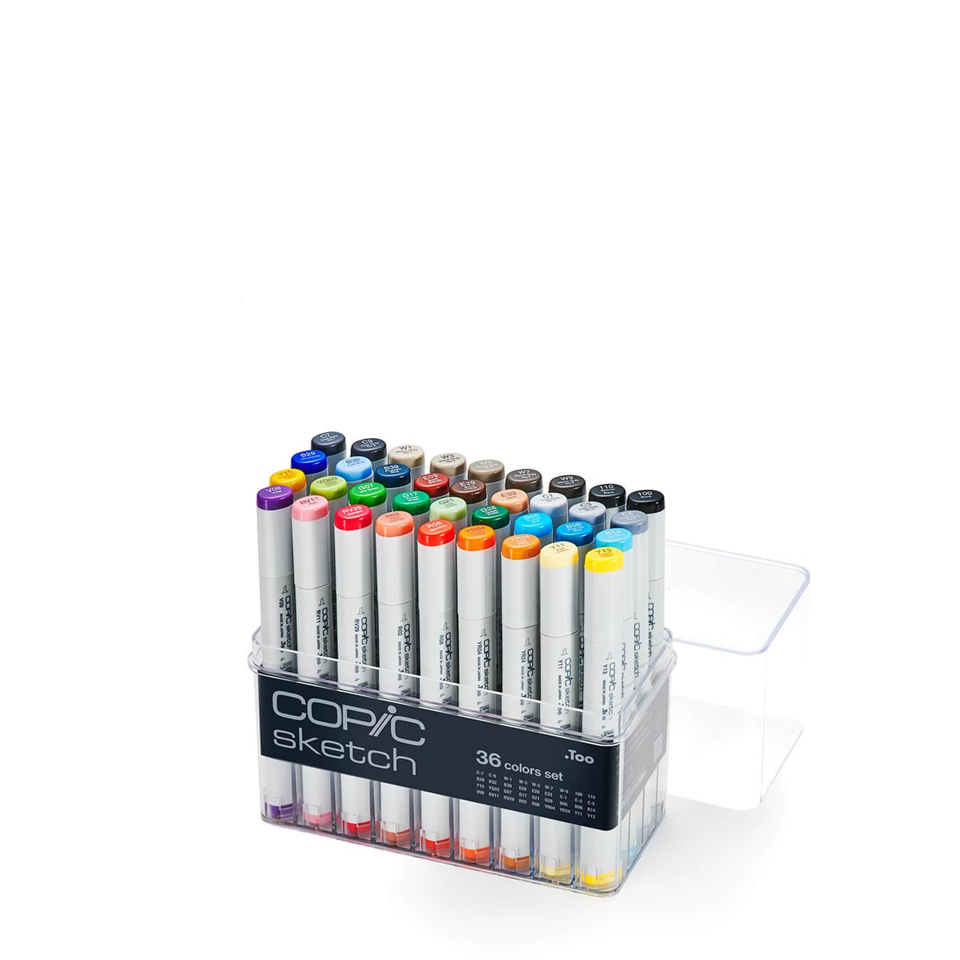Copic Sketch 36 colors set