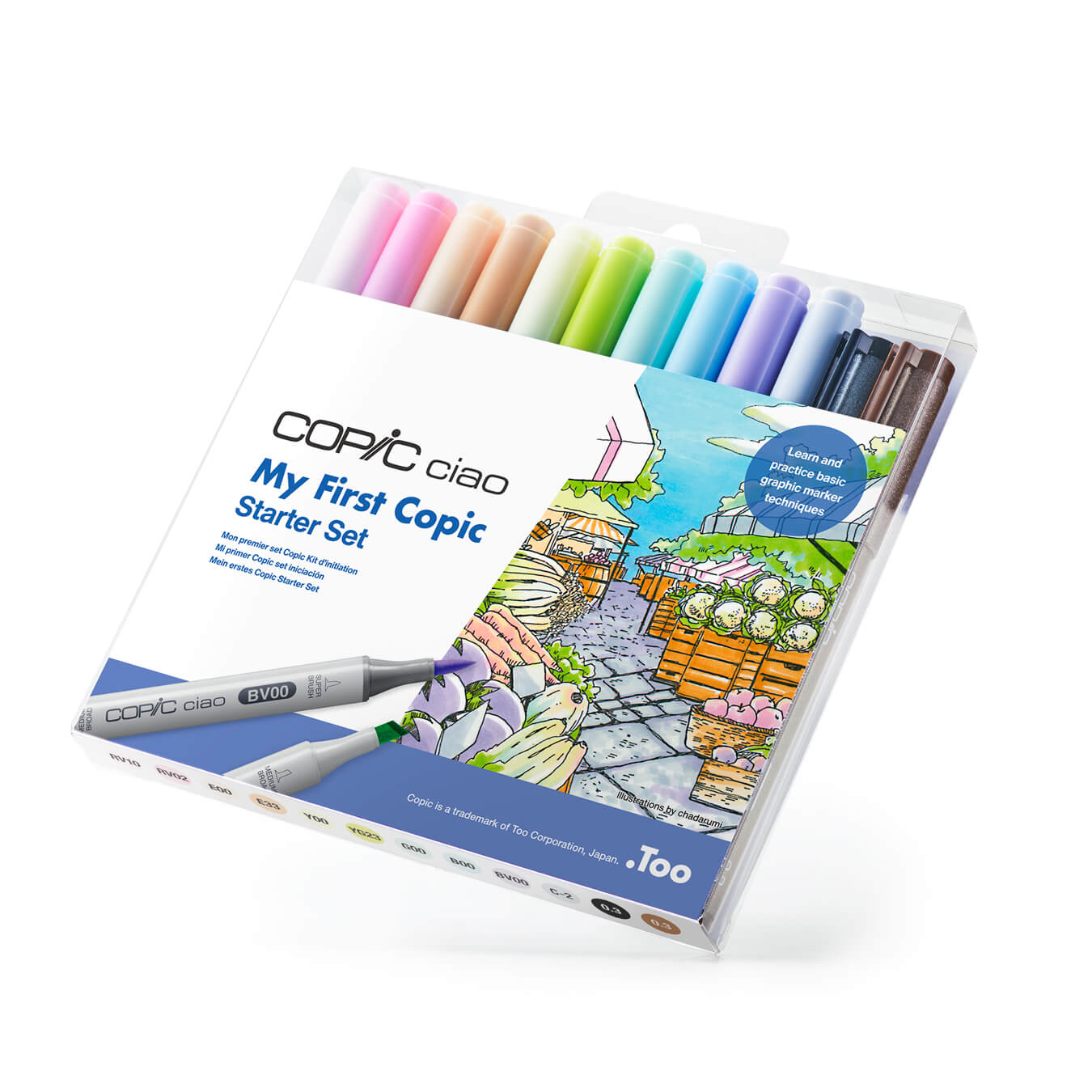 My First Copic Starter Set Package image