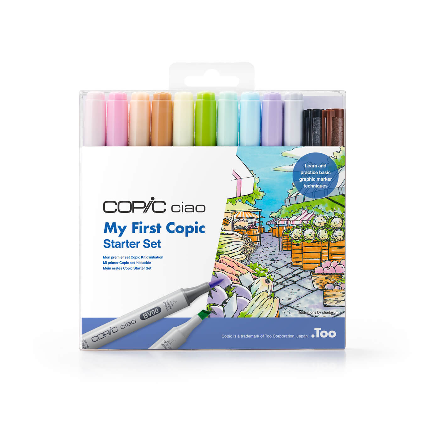 My First Copic Package image front