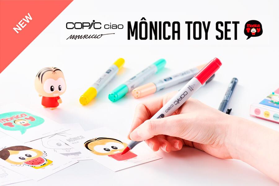 copic ciao monica toy set