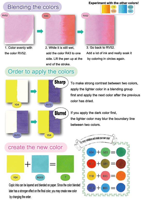 How to Use Copic - COPIC Official Site (English)