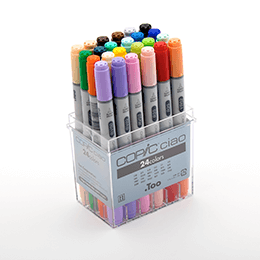 Copic Ciao 24pc Color Set