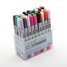 Copic Ciao 36pc Color Set E