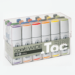 Copic Wide 12pc Color Set