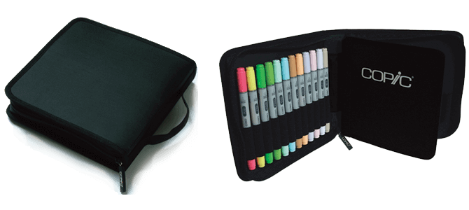 Copic Flat Case B